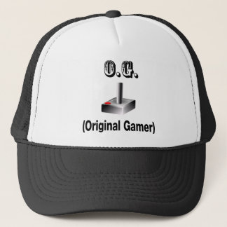 O.G. Original Gamer Trucker Hat