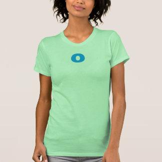 """""""o"""" Initial Women's Shirt."""