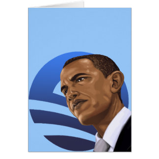 O is for Obama Barack Obama 2012 Card