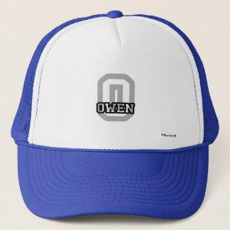 O is for Owen Trucker Hat