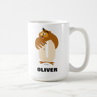 O is for Owl | Add Your Name Coffee Mug