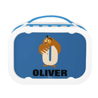 O is for Owl | Add Your Name Lunch Box