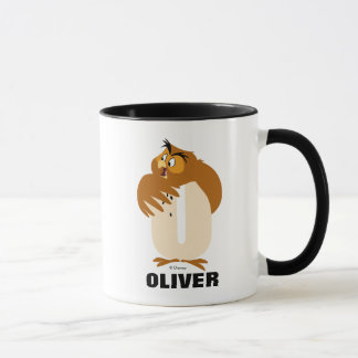 O is for Owl | Add Your Name Mug