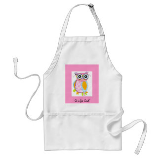 O is for Owl Standard Apron