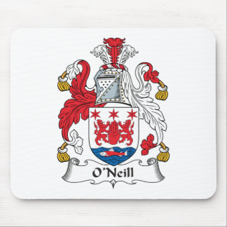 O Neill Family Crest Mouse Pad
