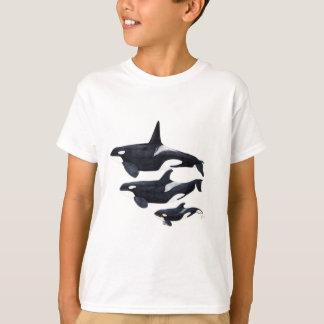 O.orca-fond transparent T-Shirt