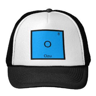 O - Ozu Funny Chemistry Element Symbol T-Shirt Trucker Hat