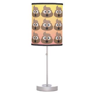 O Poo Emoji Ombre Lamp