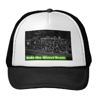 O Scale Model Train - Ride the Ghost Train Trucker Hat