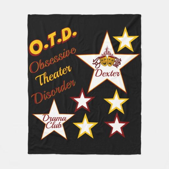O.T.D.Obsessive Theatre Disorder Blanket