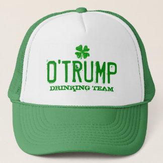 O Trump Drinking Team funny St Patricks Day hats