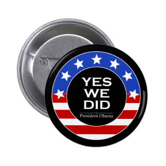 O Yes We Did Stars - Button