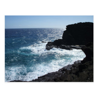 Oahu Blue Postcard
