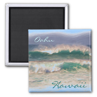 Oahu Hawaii magnet