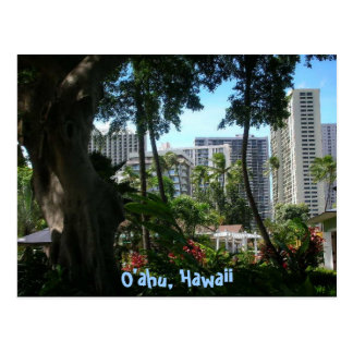 O'ahu, Hawaii postcard