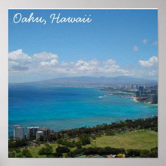 Oahu, Hawaii Poster