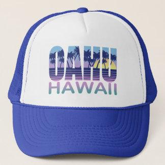 Oahu Hawaii Trucker Hat