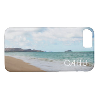 Oahu Hawaii Waves & Beach Oil Paint Digital Art iPhone 8/7 Case