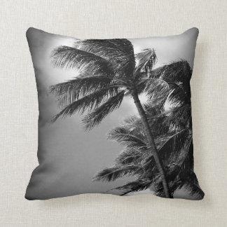 Oahu Palms Throw Pillow