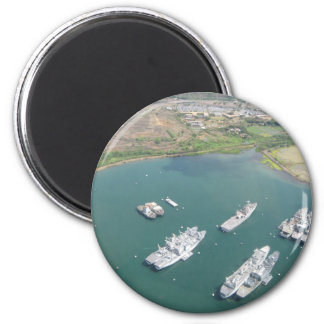 O'ahu - ships 2 inch round magnet