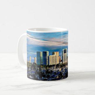 Oahu Skyline/Marina Coffee Cup/Mug Coffee Mug