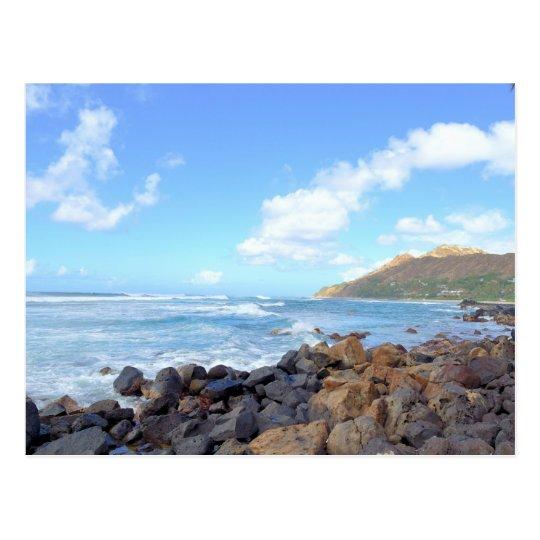 Oahu's Beaches Postcard