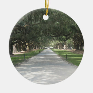 Oak Alley at Boone Hall, Charleston SC Ornament