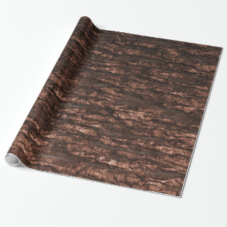Oak Bark Camo Wrapping Paper