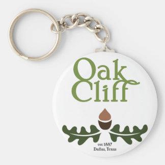 Oak Cliff Historic Keychain