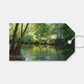 Oak Creek I in Sedona Arizona Nature Photography Gift Tags