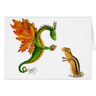 Oak Dragon Card