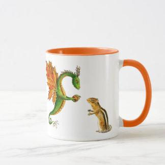 "Oak Dragon ""I love Autumn"" mug"