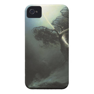 Oak fractured by a lightning. Allegory Maxim iPhone 4 Case-Mate Cases
