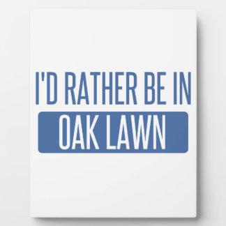 Oak Lawn Plaque