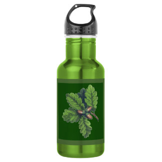 Oak Leaf Cluster 18 oz Water Bottle