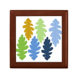 Oak Leaf Gift Box