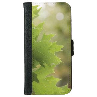 Oak leaves iPhone 6 wallet case