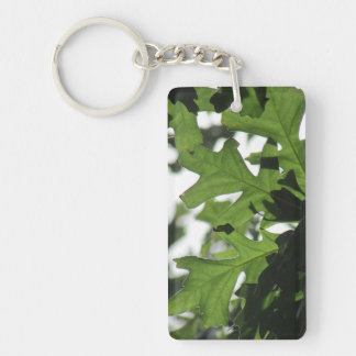 Oak Leaves Keychain