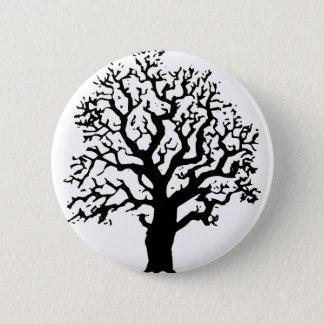 Oak Tree 2 Inch Round Button