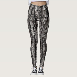 Oak Tree Bark Leggings