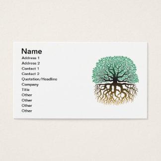 Oak Tree Business card