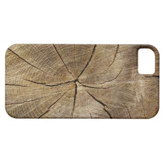 Oak Tree Cross Section iPhone SE+5/5S Case