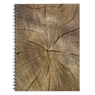 Oak Tree Cross Section Photo Notebook