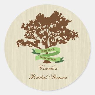 Oak Tree Fall Sticker