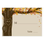 Oak Tree Fall Wedding Flat Place Cards Pack Of Chubby Business Cards
