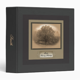 Oak Tree Family Heritage Binder
