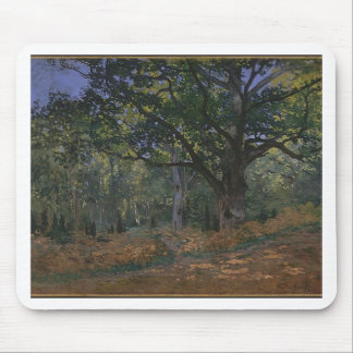 Oak tree in the forest mouse pad