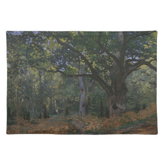 Oak tree in the forest placemat
