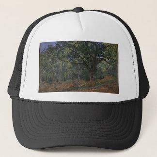Oak tree in the forest trucker hat