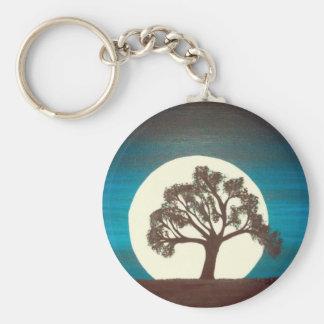Oak Tree Keychain